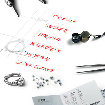 1.20 Ct Heart Shaped SI2-E Color Diamond Women Engagement Ring Pave Set 14K GIA 4