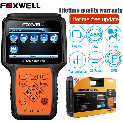 Foxwell NT624 PRO Full System ABS SRS TRANS EPB OIL Reset Code Reader Diagnostic