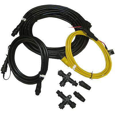 Garmin NMEA 2000 Starter Kit N2K Network Cable (Drop/Power/Backbone/Connectors) (Index Starter Kit)
