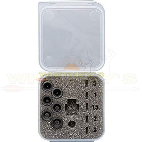 Specialty Archery Podium Peep Aperture Kit (Contains All 6 Apertures)-PPAKT