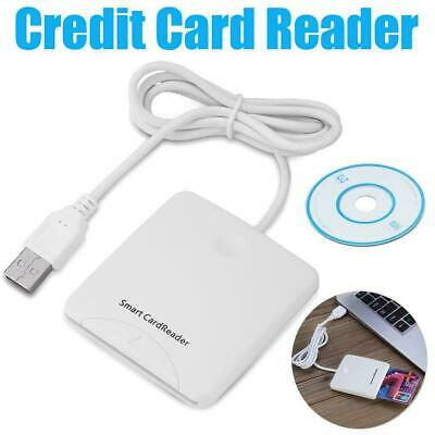 Usb Contact Intelligent Chip Card Credit Cards Reader Encoder Writer W Sim Slot