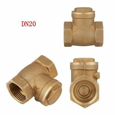 Dn20 34 Bsp Female Brass 232psi Prevent Water Backflow Swing Check Valve El