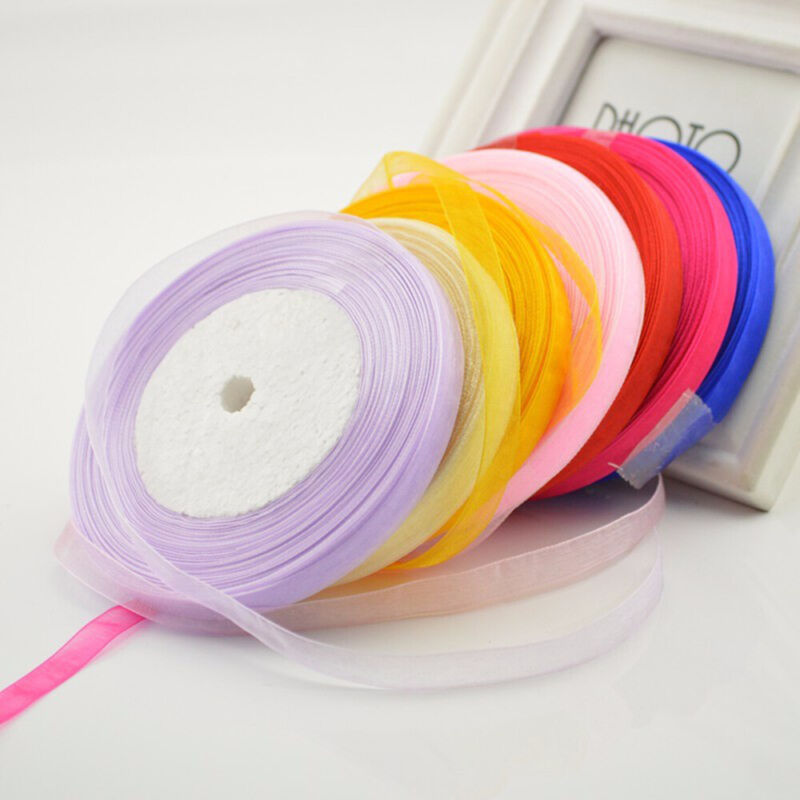 Belt Home Decor Gift Wrapping Fabric Silk Rope Satin Ribbon
