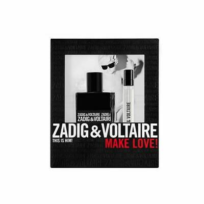 ZADIG & VOLTAIRE THIS IS HIM!MAKE LOVE 50ML EDT + 10ML EDT BRAND NEW & BOXED