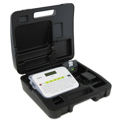 Brother Versatile Label Maker W Ac Adapter And Carrying Case White Ptd400vp New