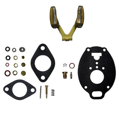 Economy Carburetor Kit W Float Fits Ford Holland 800 900 2000 4000