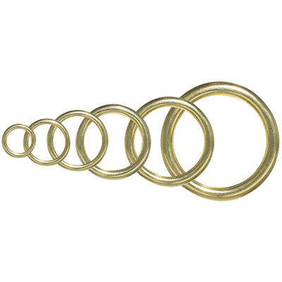 Brass O-Rings – Great for DIY Projects, Decoration & Art - Ornament Craft Projects