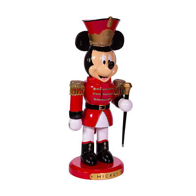 "[Kurt Adler Nutcracker - Disney Mickey Mouse Marching Band Leader 10"" Nutcracker</Title]"