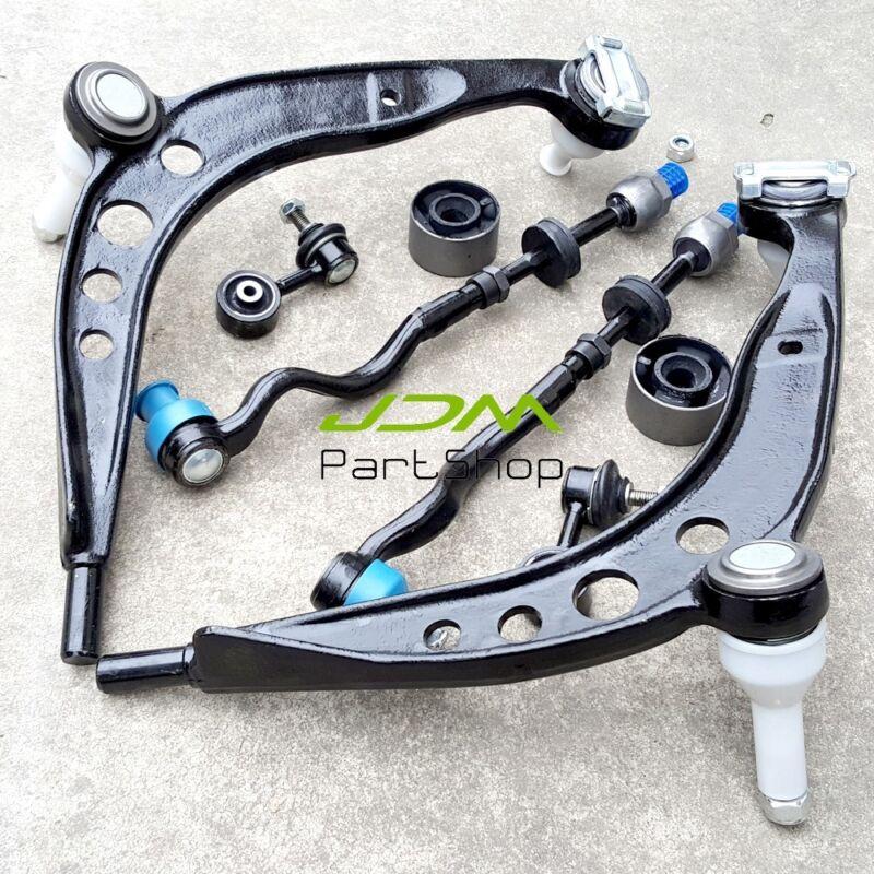 for BMW 318i, 323i, 325i, 328i, Z3 E36 Front Control Arm Tie Rod, End Link Kit 4