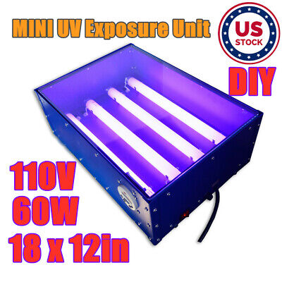 Usa 110v 18 X 12in Uv Exposure Unit Silk Screen Printing Plate Making Machine
