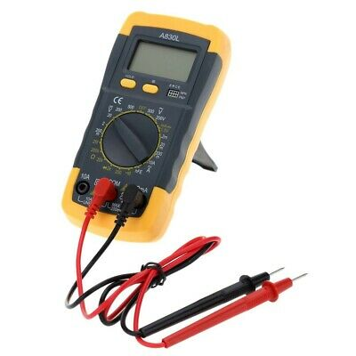 New A830l Digital Multimeter Avometer Volt Ohm Amp Tester With Lcd Display