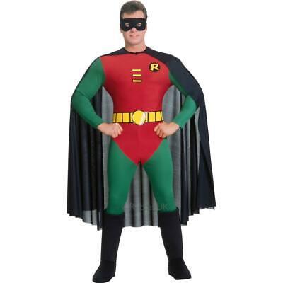 Erwachsene Herren Offiziell Robin Kostüm - Robin Erwachsenen Superhelden Kostüm