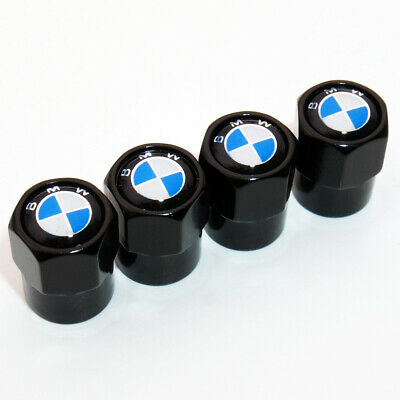 Hex Shape For BMW Logo Emblem Car Wheel Tire Air Valve Cap Stem Dust Cover Sport