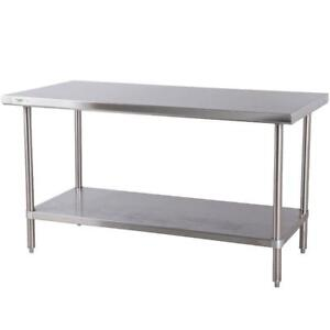 Table de travail - Work table ACIER INOXIDABLE a partir de 130$