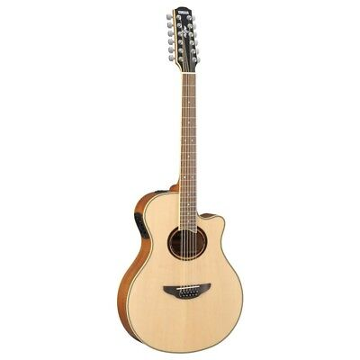 Yamaha APX700II 12 String Acoustic Electric Guitar - Natural for sale  Shipping to Canada