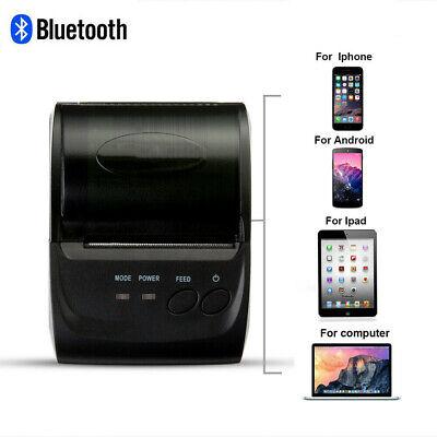 Mini 58mm Bluetooth Wireless Mobile Pos Thermal Receipt Printer Pos-5802dd D2a1