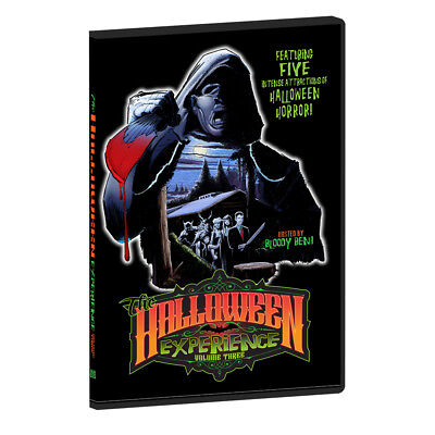The Halloween Experience Volume 3 Party Horror DVD Even More Haunted Attractions - Halloween Experiments