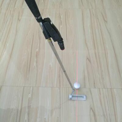 Golf Putter Laser Pointer Aim Line Corrector Training Alignment Practice (Laser Alignment Training)