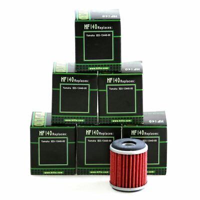 HIFLO HF140 MOTORCYCLE OIL FILTER MULTIPACK X 6 FOR <em>YAMAHA</em> YZ 250 FX 0