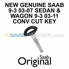 NEW GENUINE SAAB 9-3 CUT KEY 2003-2007 SEDAN WAGON 2004