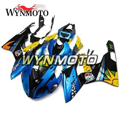 Cowlings for BMW S1000RR 2015 2016 Shark Blue Yellow Plastic Injection Body Kits