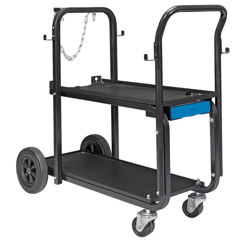 """MILLER ELECTRIC 301239 Running Gear/Cart,37"""" Lx36-1/4"""" Hx18"""" W"""