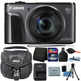 Canon PowerShot SX720 HS 20.3MP 40X Optical Zoom Wifi Digital Camera 16GB Bundle