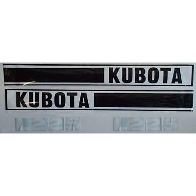 Kl225 New Hood Decal Set Fits Kubota Tractor Model L225
