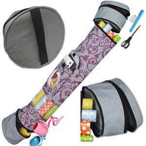 Gift Wrap Storage Bag Organiser Xmas Christmas Birthday Wrapping Paper Tidy