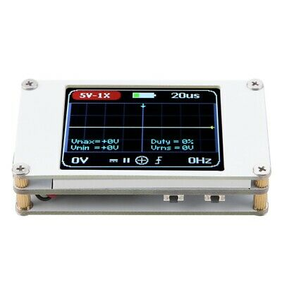 Dso188 Portable Pocket 1ch Digital Oscilloscope 1mhz Bandwidth 5mss Sample Rate