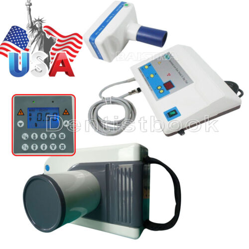 2 Types Dental Portable Mobile X Ray Film Imaging Digital Low Dose System