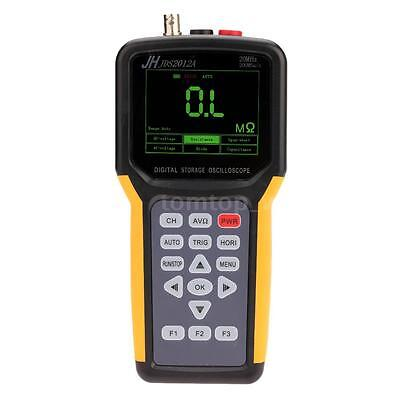 Jds2012a Handheld Tft Lcd Digital Storage Oscilloscope 20mhz 200msas Multimeter