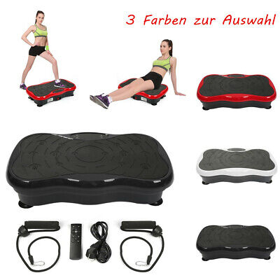 Vibrationsplatte Fitness Platte Vibro Fettverbrennung +LCD Bluetooth Vibration