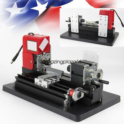 Pro Lathe Machine Saw Mini Combined Machine 20000rpmmin 12vdc2a24w