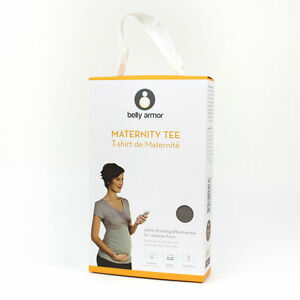Radia Shield Belly Armor Gray Maternity Camisole-L