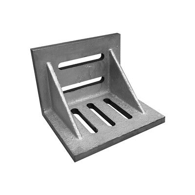 6 x 5 x 4-1/2 Inch Ground Angle Plate Webbed End Precision Steel Ground