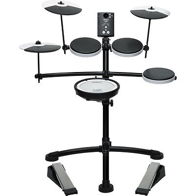 Roland TD1KV V-Drum Compact Electronic Electric Drum Kit Set w/ Mesh Head Snare