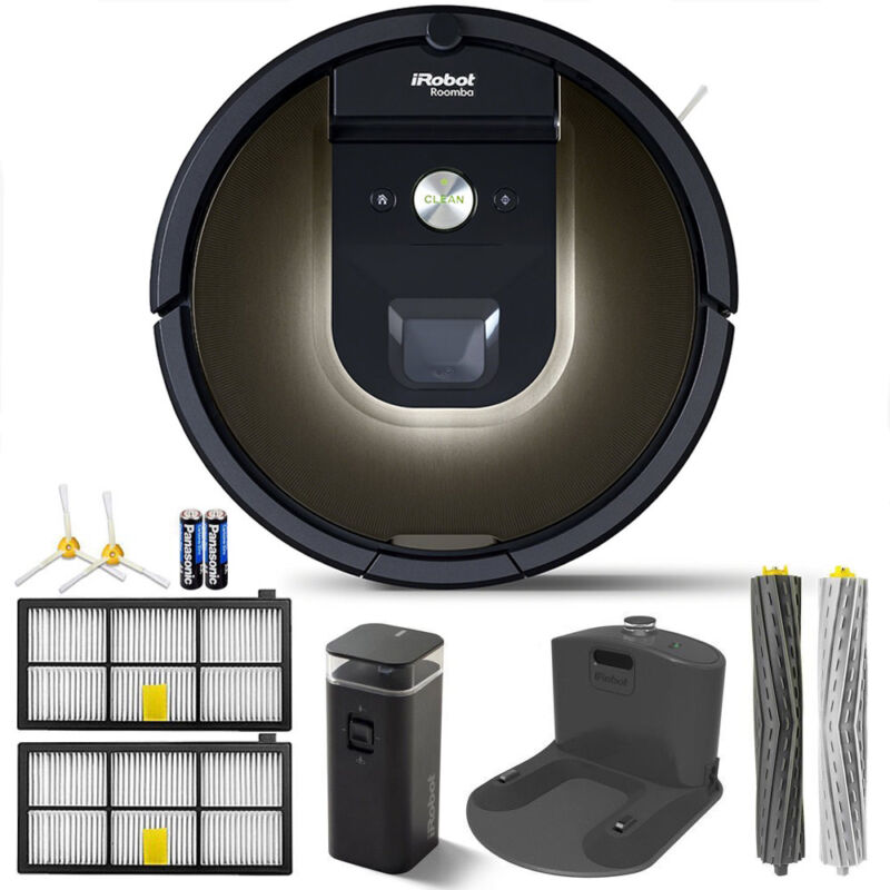 iRobot Roomba 980 App-Controlled Self-Charging Vacuum with Wi-Fi Connectivity