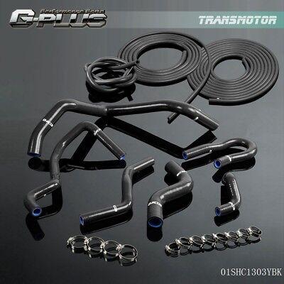 Vacuum Hose + Silicone Hose Kit For 92- 2000 HONDA CIVIC 1.6L SOHC D15 D16 EG EK