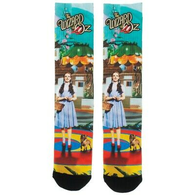 THE WIZARD OF OZ DOROTHY TOTO MUNCHKINLAND SUBLIMATED ALL OVER PRINT CREW - Wizard Of Oz Toto