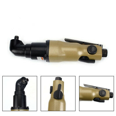 14 90 Degree Pneumatic Air Screwdriver 10000 Rpm Adjustable Speed Drive Tool