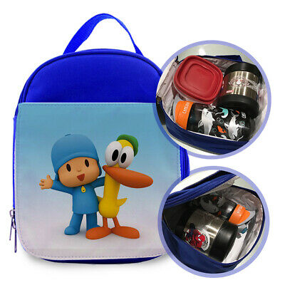 Pocoyo 3 Custom Printed Lunch Bag For Kids Size 7