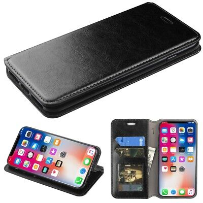 Jacket-  phone case-iPhone X/XS-with Card Holder-black, used for sale  Shipping to India