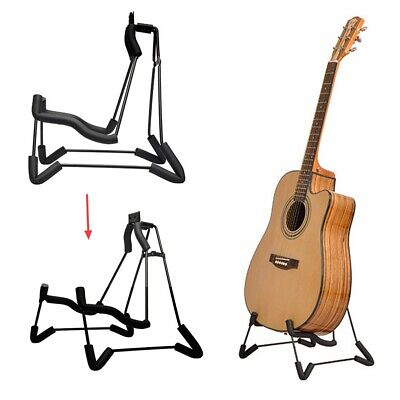 Guitar Stand for Acoustic/Electric Guitars Bass Ukulele Folding Rack Holder Chic