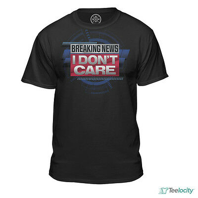 Breaking News I Dont Care Official Haters Short Sleeve Tee T Shirt