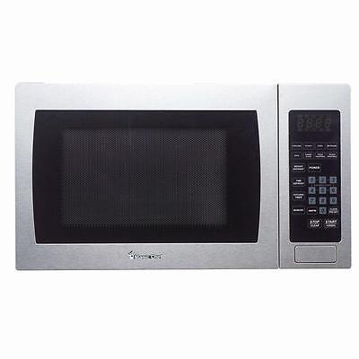 Magic Chef MCM990ST Microwave Oven Countertop 900 Watt Stainless Steel