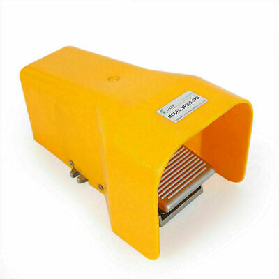 Foot Pedal Valve 2 Position 4 Channels 14 Npt Air Pneumatic Switch Alu Alloy