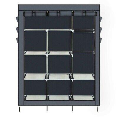 NEW Portable Closet Storage Organizer Wardrobe Clothes Rack