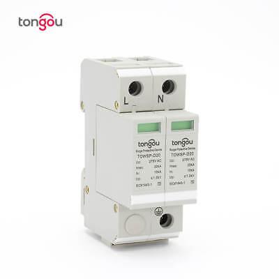 Tongou 2p 10ka20ka Surge Protection Device Spd Lightning Arrester Protection