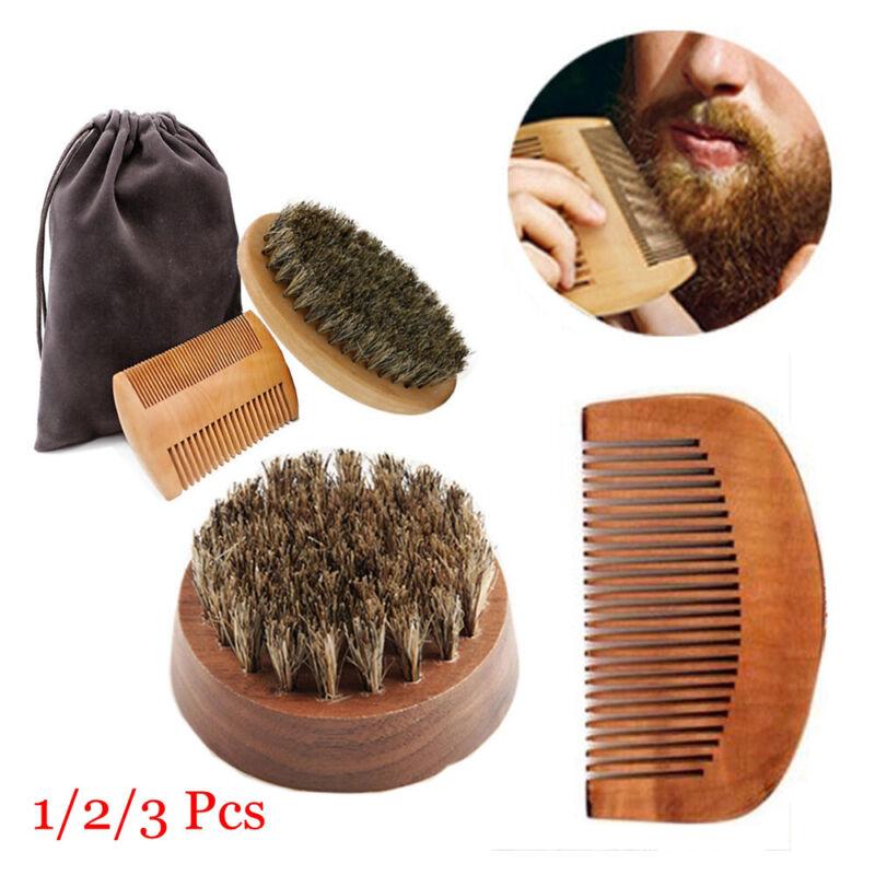 Mens Beauty Beard Comb Kit Beard Grooming Facial Shaving Boa